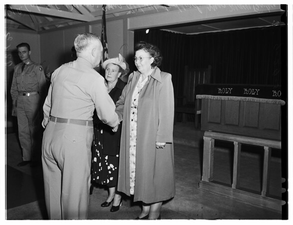 Fort MacArthur Awards, 1951.