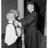 Dr. Davidson retires...Saint John's Episcopal Church, 1951