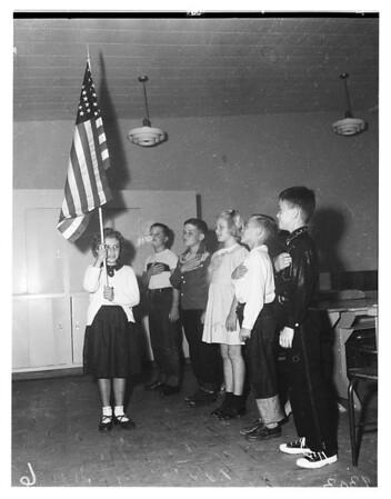San Pedro's New Elementary White Point School, 1951