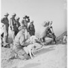 Blind Marine, Camp Pendleton, 1951