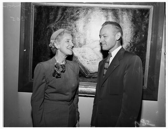 New Member of Municipal  Art Commission, 1951