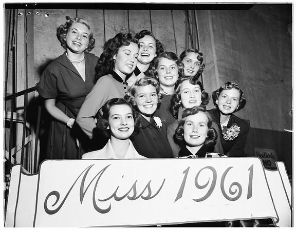 Miss 1961 contest, 1961