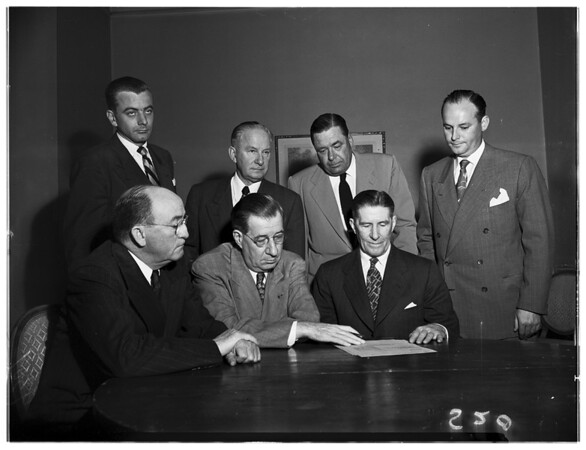 Steel Press Conference, 1951