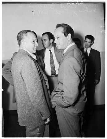Sid Luft in Court, 1951