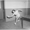 Poinsettia playground ping-pong, 1948