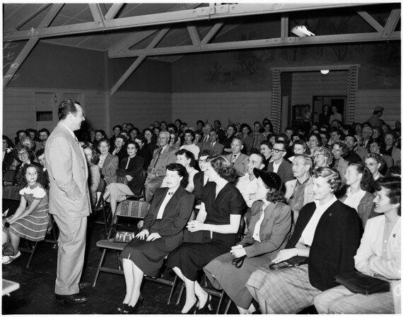 Julian Hartt, speaker, 1951.