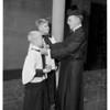 Dr. Davidson retires...Saint John's Episcopal Church, 1951