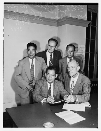 Japanese Officials...205 South Broadway Street, 1951