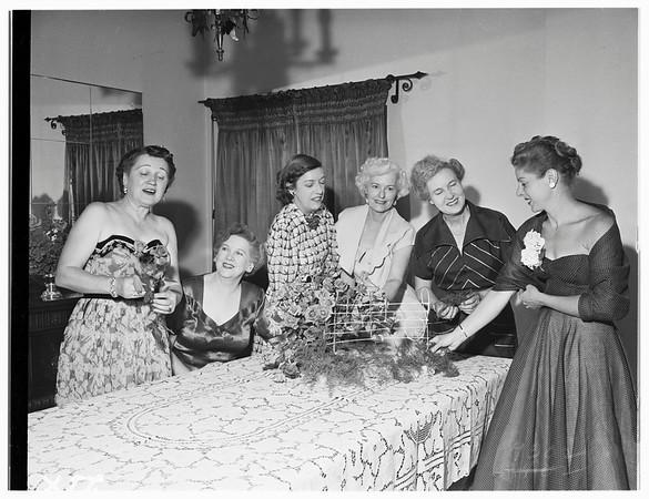 Society...Glendale Symphony Orchestra, 1639 Ben Lomond Drive, Glendale, 1951.