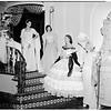 Opera fashion show...Fox Studio...mannequins, 1951