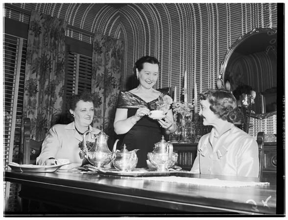 Club Activity (Mrs. Edgar J. Schmitt of 145 N. Le Doux Road), 1951