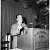 Speaker at Town Hall, 1951