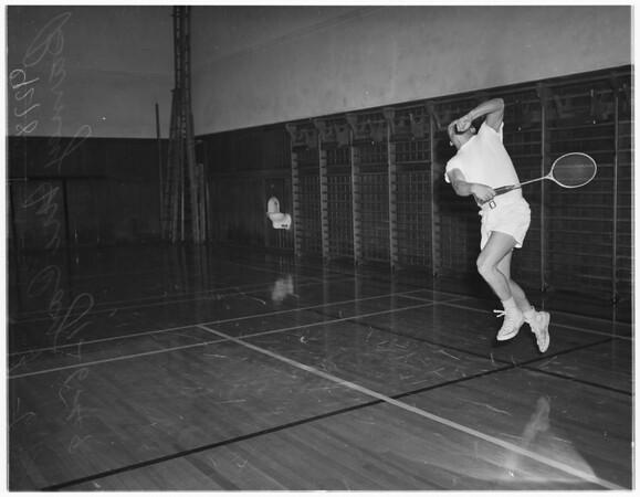 Pasadena Athletic Club badminton, 1949