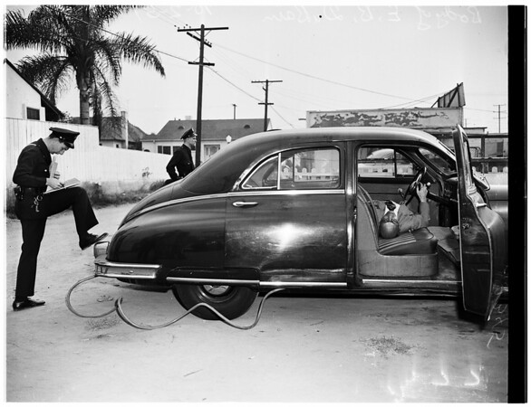Carbon Monoxide suicide (8161 West Third Street), 1951