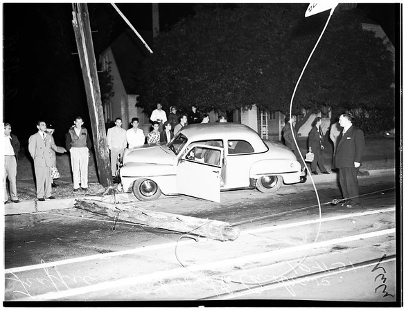 Traffic fatality...Third Street and Saint Andrews Place, 1951