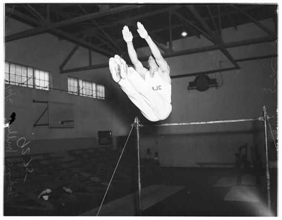 East Los Angeles Junior College gymnasts, 1949