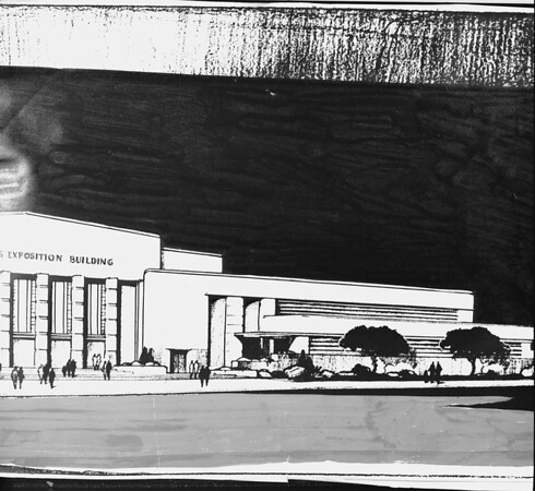 Los Angeles Exposition Building, East Los Angeles, 1947
