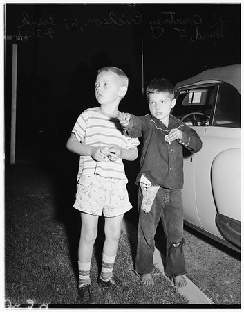 Girl kidnapped, 1951