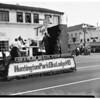 Elks parade, Santa Monica, 1951