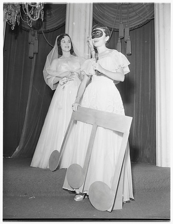 Melody Ball of Las Angelinas...Society, 1951