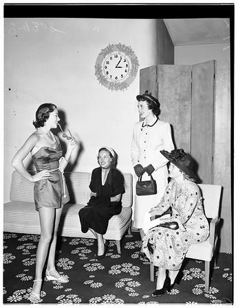Club Activity, 1951