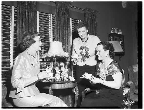 Club Activity (Mrs. Edgar J. Schmitt of 145 N. Le Doux Road), 1951