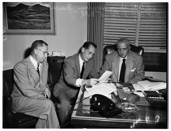 Rejection of complaint, 1951