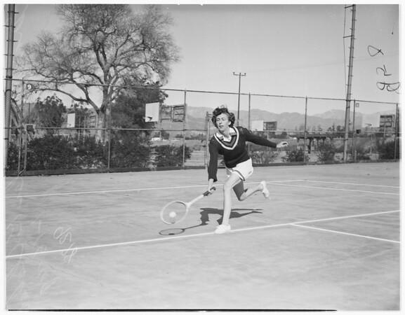 Metropolitan tennis tourney, 1949