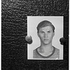 Burglar suspect shot...Monrovia, 1951
