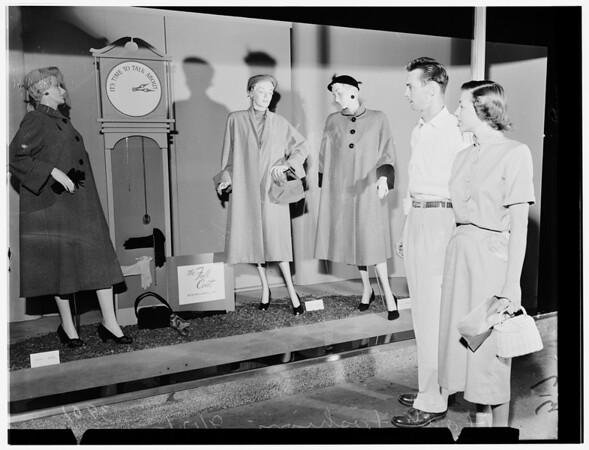 Fall fashions, 1951