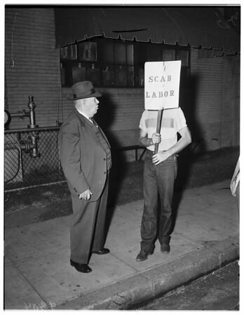Meyer and Welch (strike) Vernon, 1951