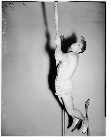 Young Men's Christian Association gymnasts, 1948
