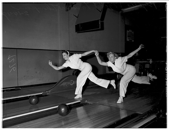Bowling doubles champions, 1949