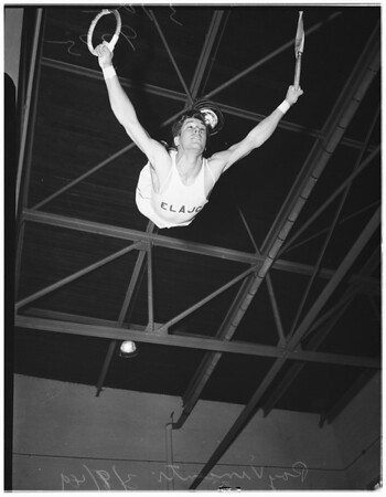East Los Angeles Junior College gymnasts, 1949