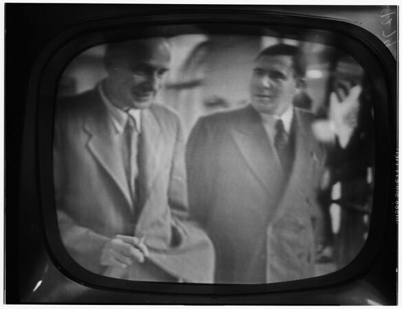 Japanese peace treaty talk in San Francisco, 1951