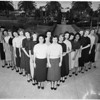 Pepperdine College ...Homecoming Queen Candidates, 1951