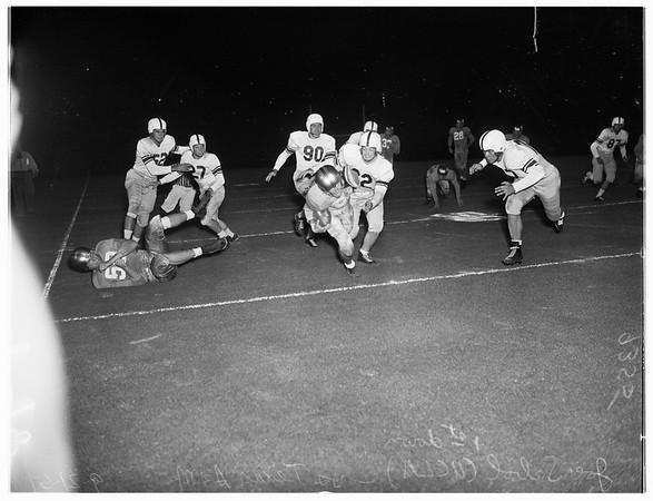 Football, University of California, Los Angeles versus Texas  A & M University, 1951