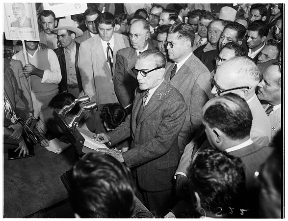 Cortines in Mexicali, 1951