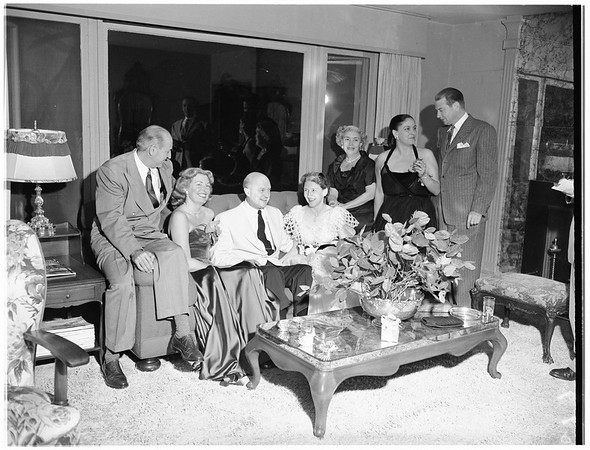 William Richardson party, 1951