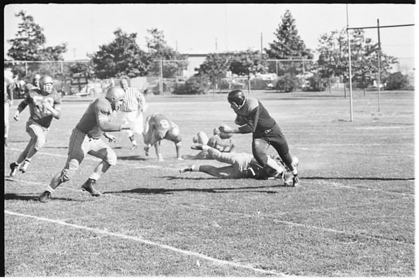 Football (Cleveland Browns versus Los Angeles Rams), 1951