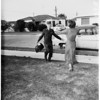 Home from Korea after three years, 1951