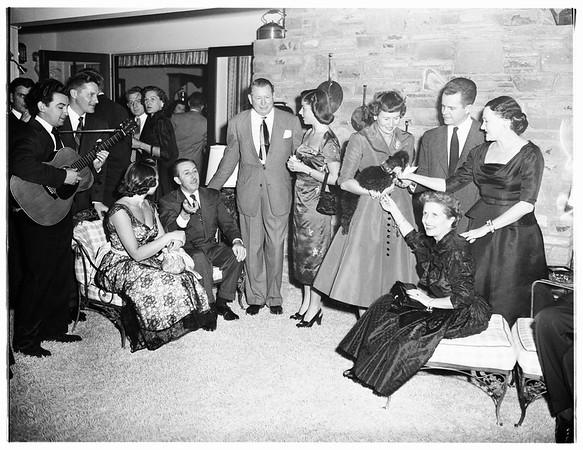 Society (Cameron Hall's Party), 1951