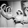 Westlake School For Girls...class ring ceremony, 1951