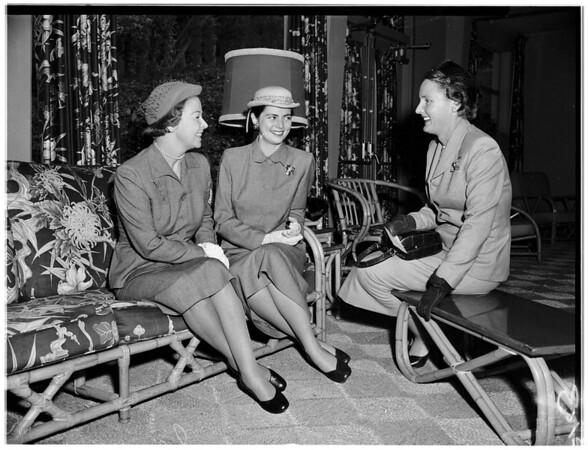 Good Samaritan Hospital Auxiliary ...Nurses' Auditorium, 1951