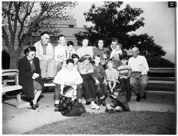Potter Family Reunion, 1951