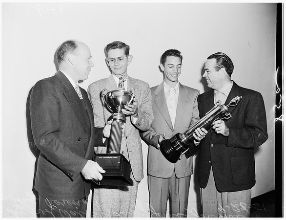 Examiner Awards...baseball, 1951