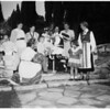 Rehearsal For Carnival...Women's Auxiliary San Pedro Community Hospital, 1951