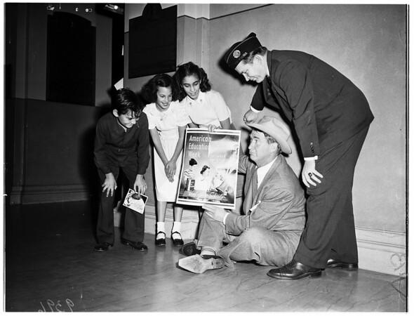 American Education Week at Patriotic Hall, 1951