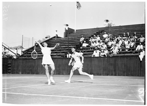 Los Angeles Tennis, 1951