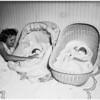 Twins come home, 1951